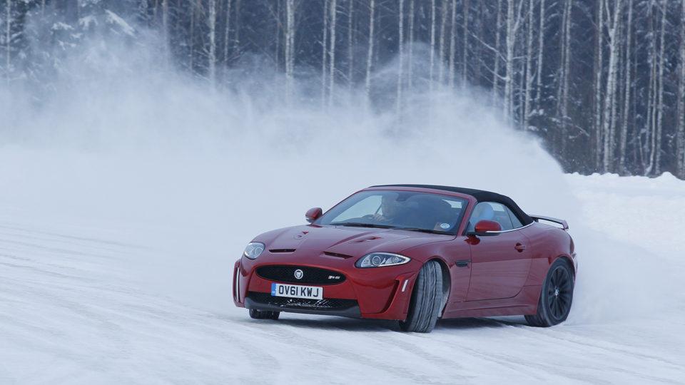 Helping Jaguar roar… on ice