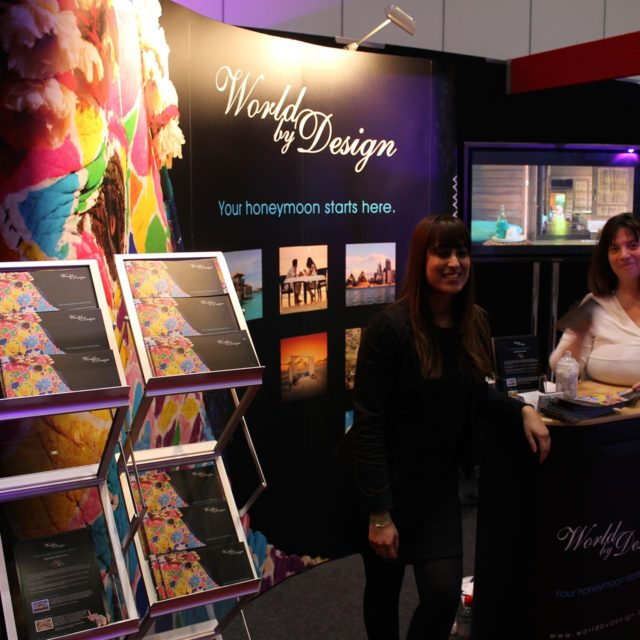 World by Design Stand