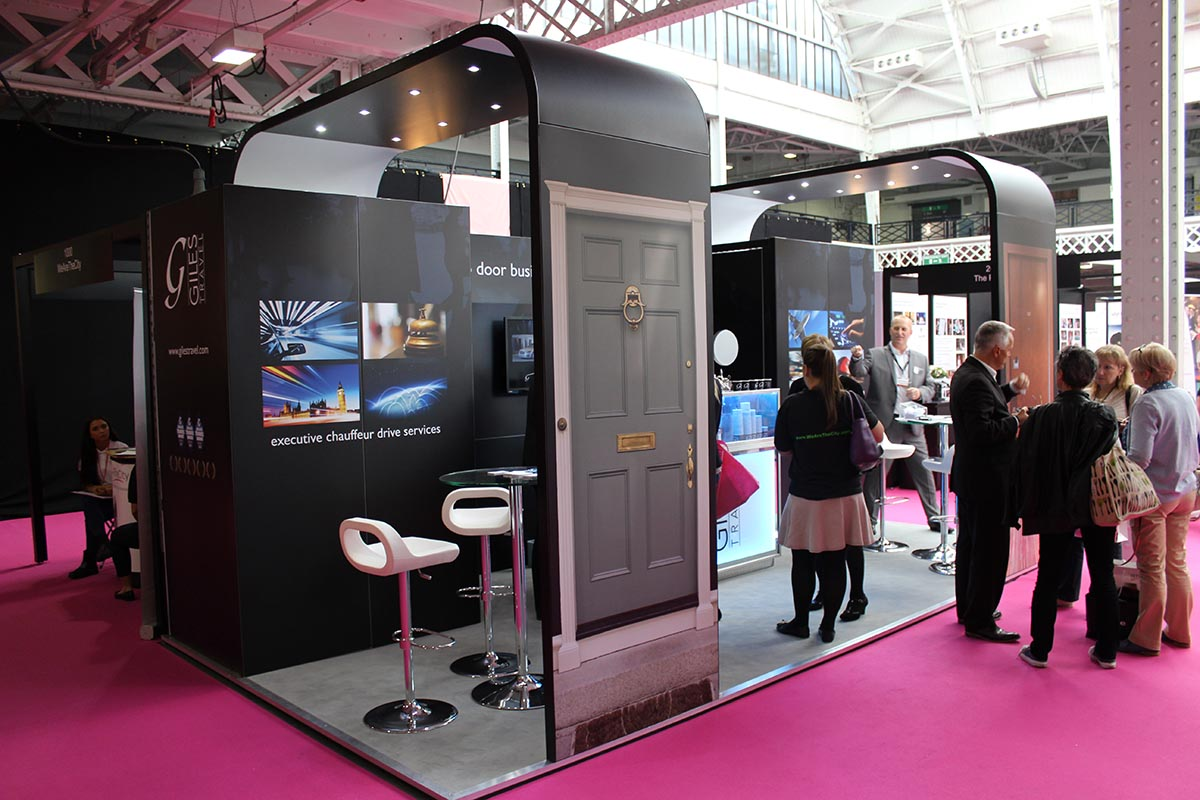 Giles Travel at the Office Show