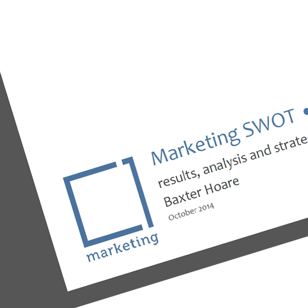Marketing SWOT