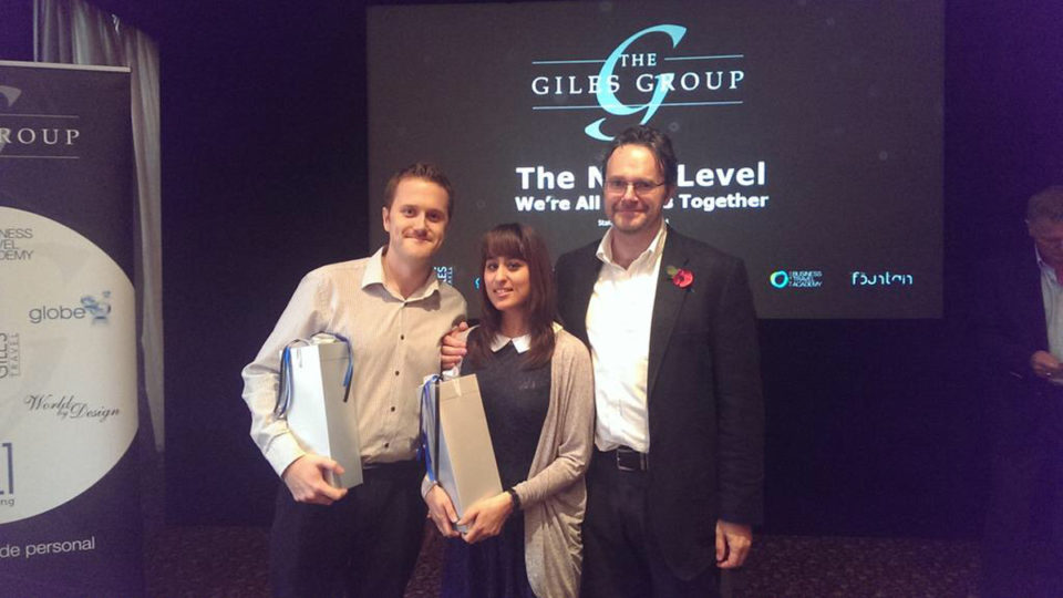 Square1 Runners Up for Giles Group Team of the year
