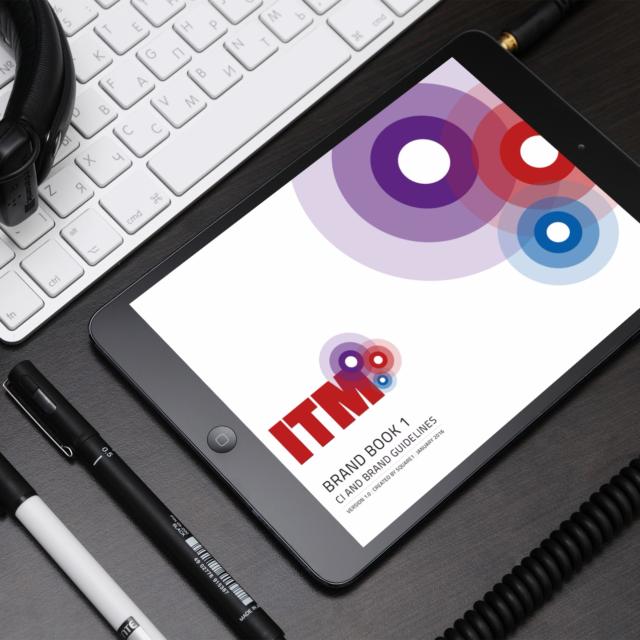 ITM Brand Book iPad